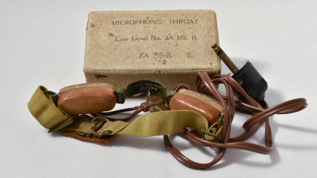Throat microphone No 2 Mk II