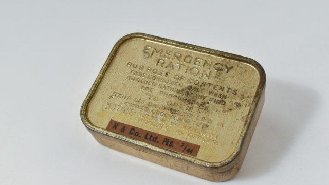 Emergency ration tin