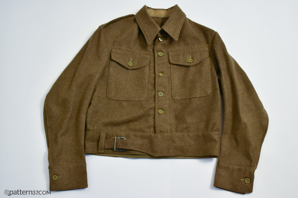 Battledress blouse 1940 pattern
