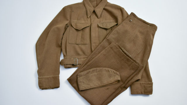 Polish soldier's battledress