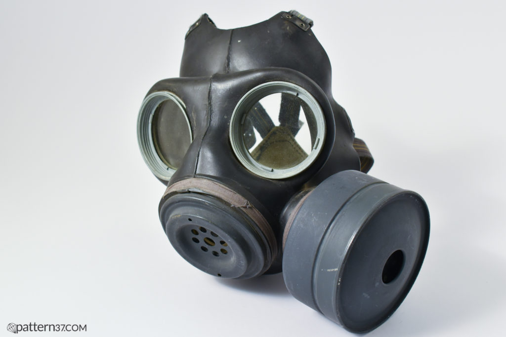 Light pattern respirator