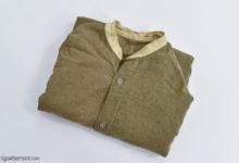 Colarless shirt