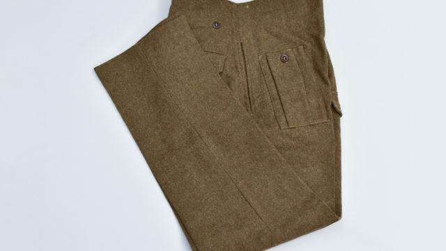 Battledress trousers austerity pattern