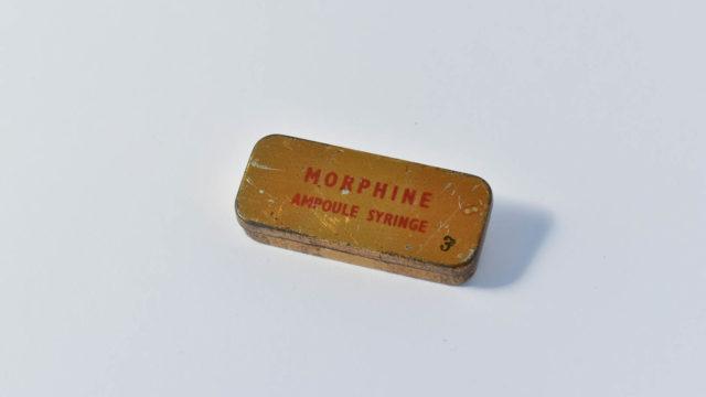 Morphine tin