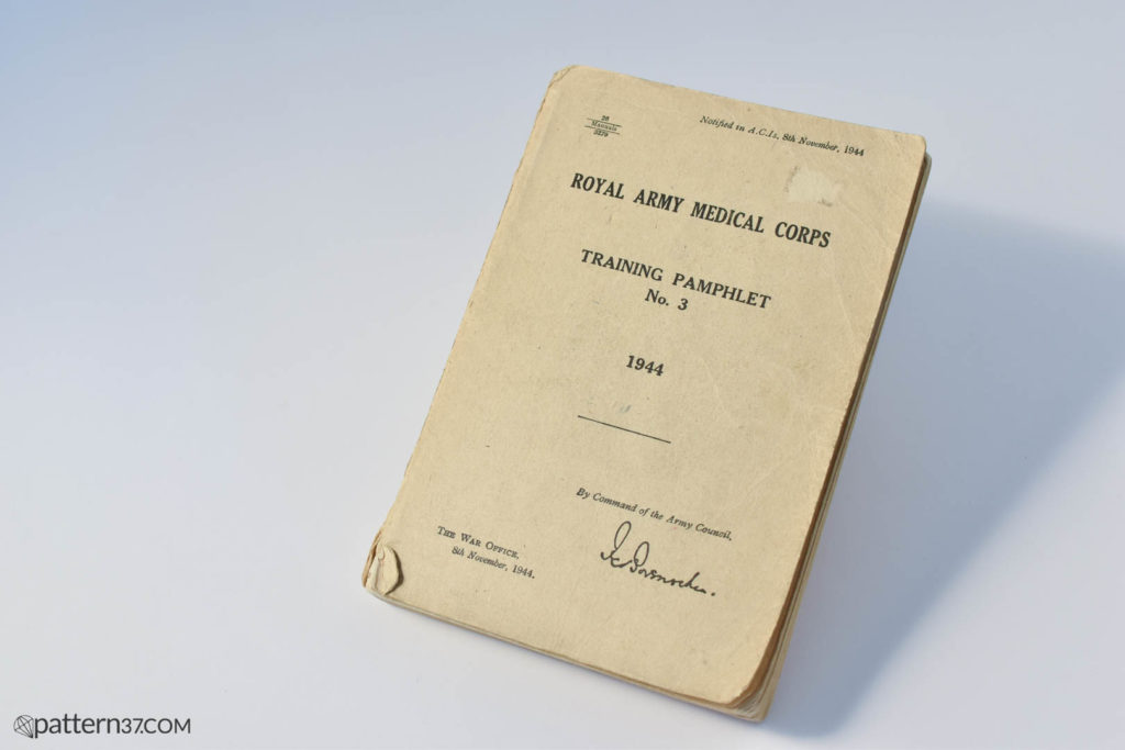 RAMC Training Pamphlet No. 3