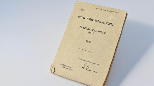 RAMC Training Pamphlet No. 3
