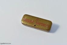 AM morphine tin