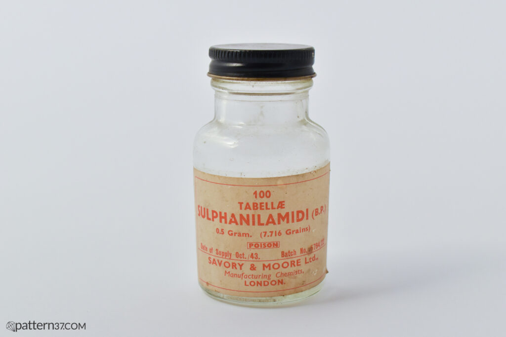Sulphanilamide tablets
