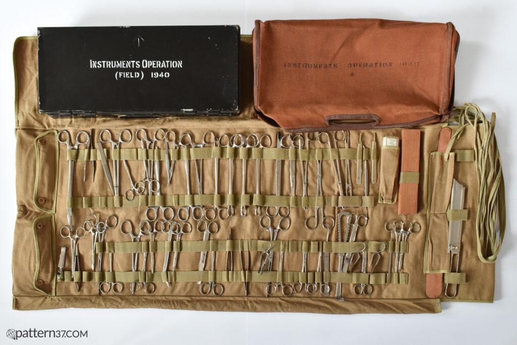 Instruments operation 1940