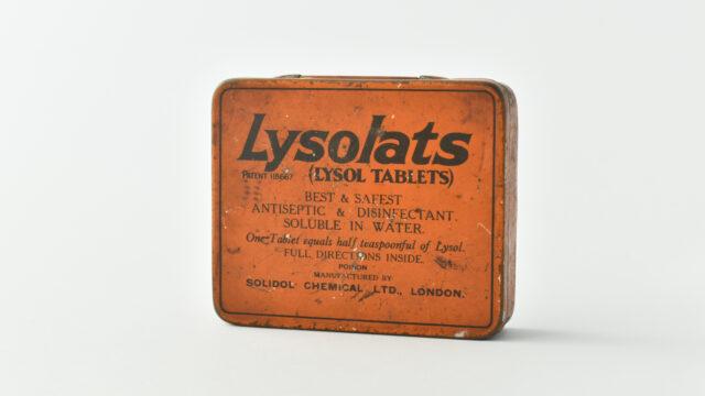 Lysolats tin