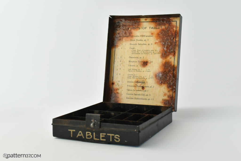 Tablet tin