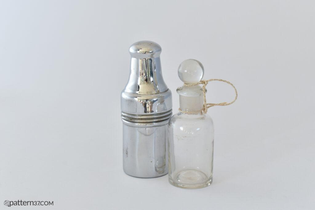 Medical bottle in case